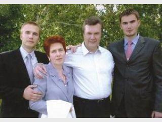 Бизнес семьи Януковича